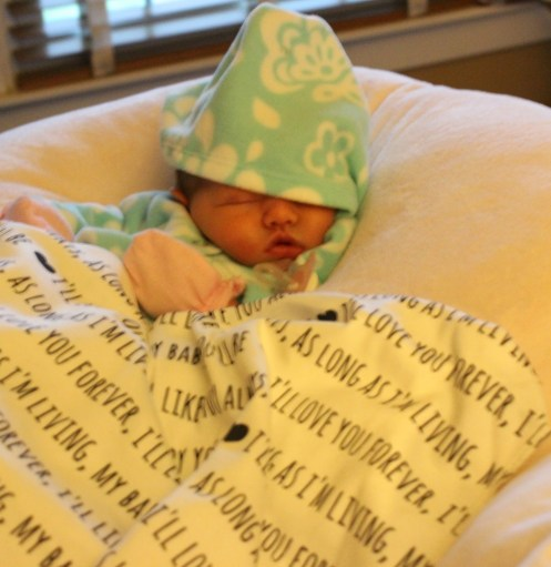 Letter to my Daughter at One Week Old - Casual Claire