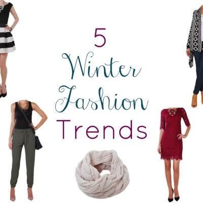 5 Winter Fashion Trends