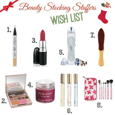 Beauty Stocking Stuffers Wish List