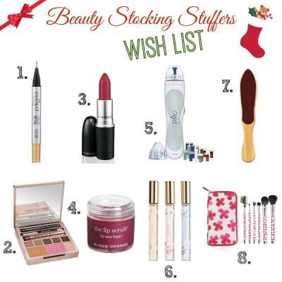 Beauty Stocking Stuffers Wish List