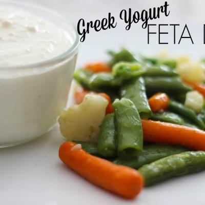Greek Yogurt Feta Dip + Giveaway