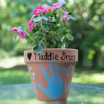 Weekend Recap + Teacher Gift Flower Pots