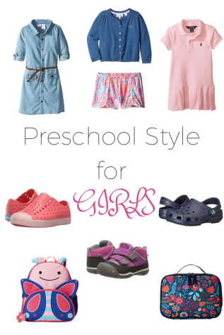Preschool Style for Girls