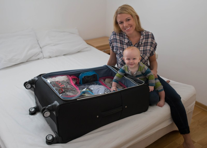 easy packing for travel with kids