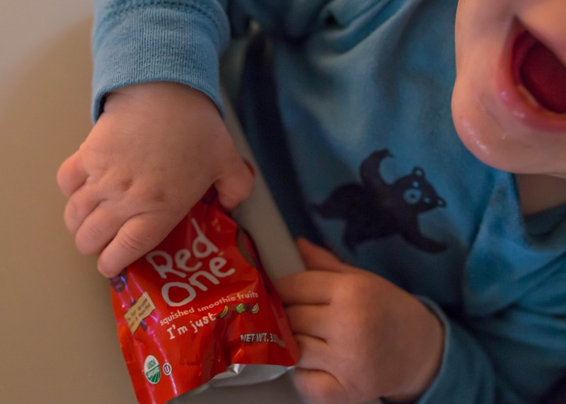 The Red One wholesome and tasty baby food pouch