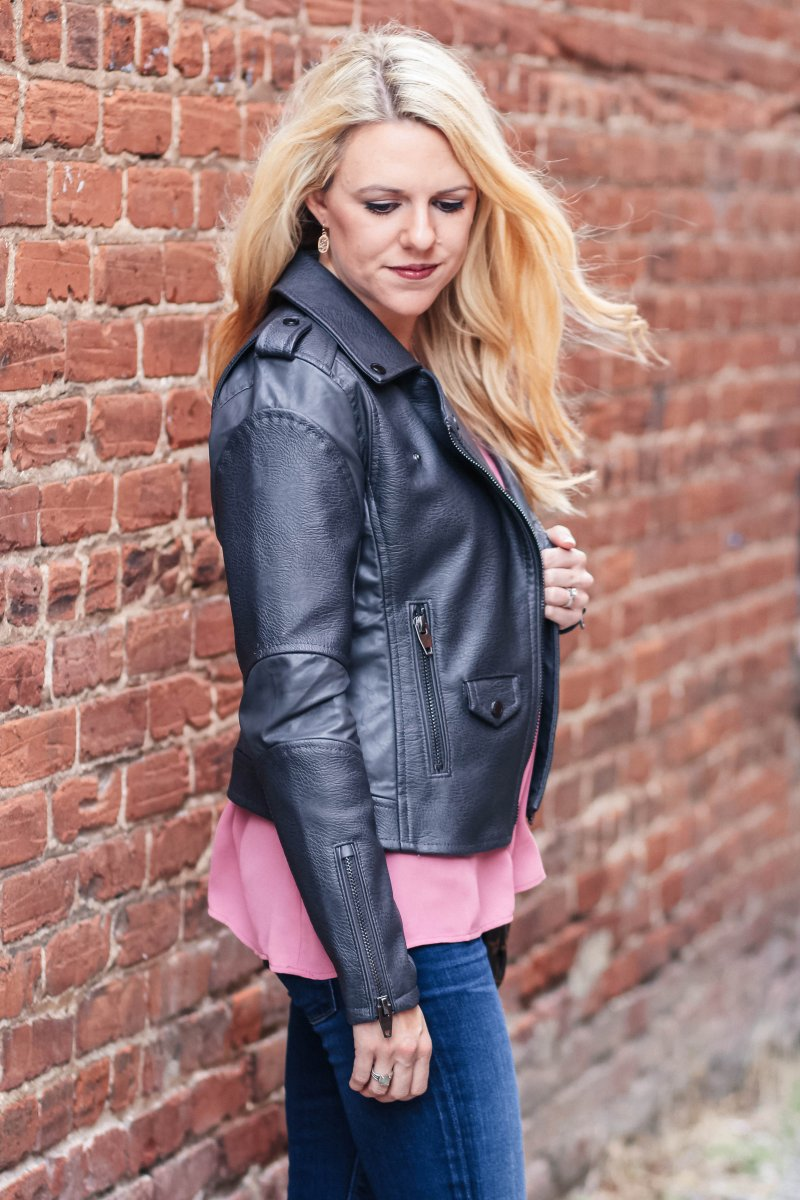 details on this awesome moto jacket super on sale!