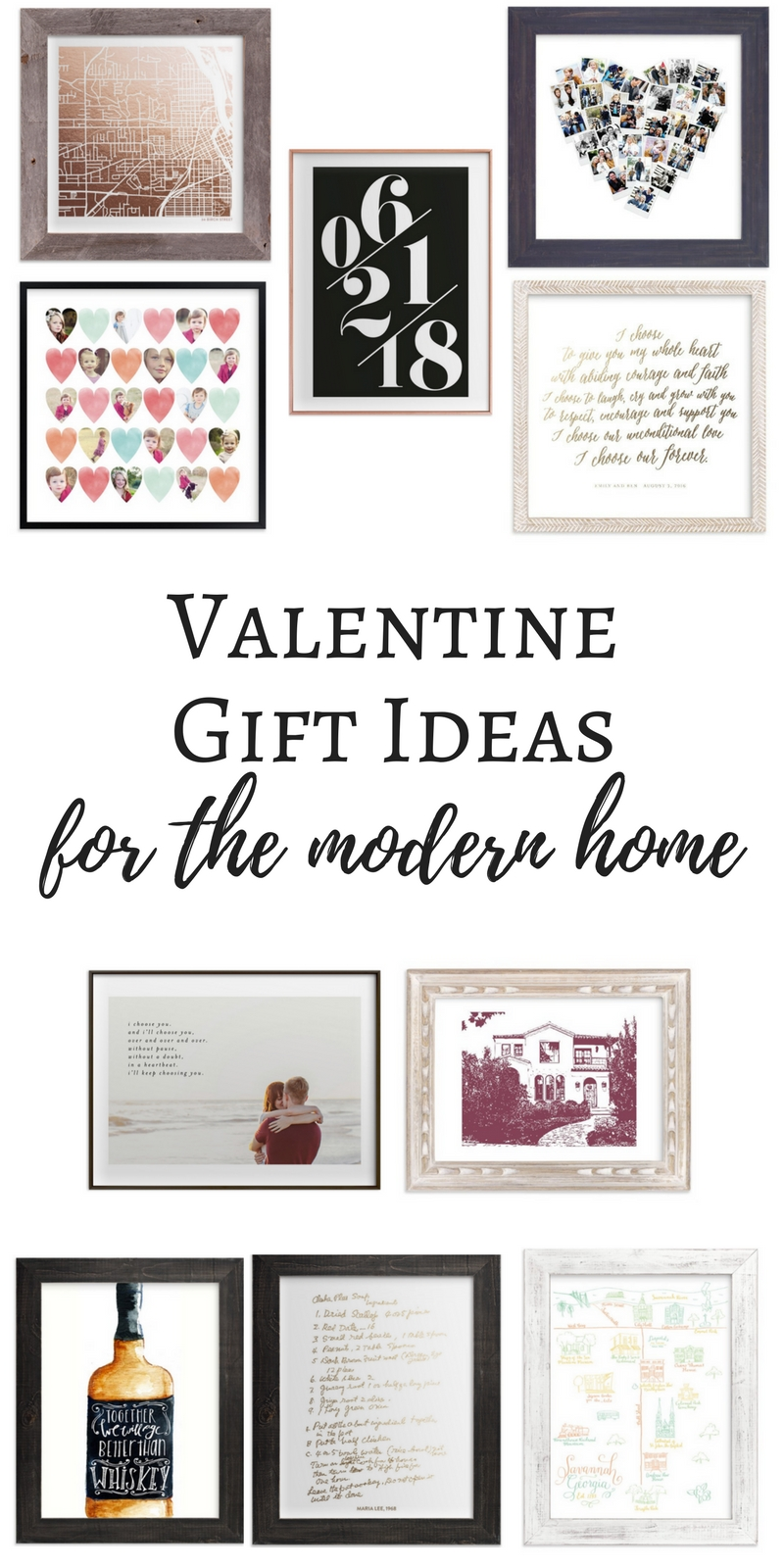 valentines gift ideas for the modern home with minted