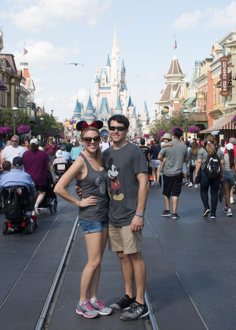 Disney Social Media Moms Celebration 2017: Couple at Walt Disney World Magic Kingdom