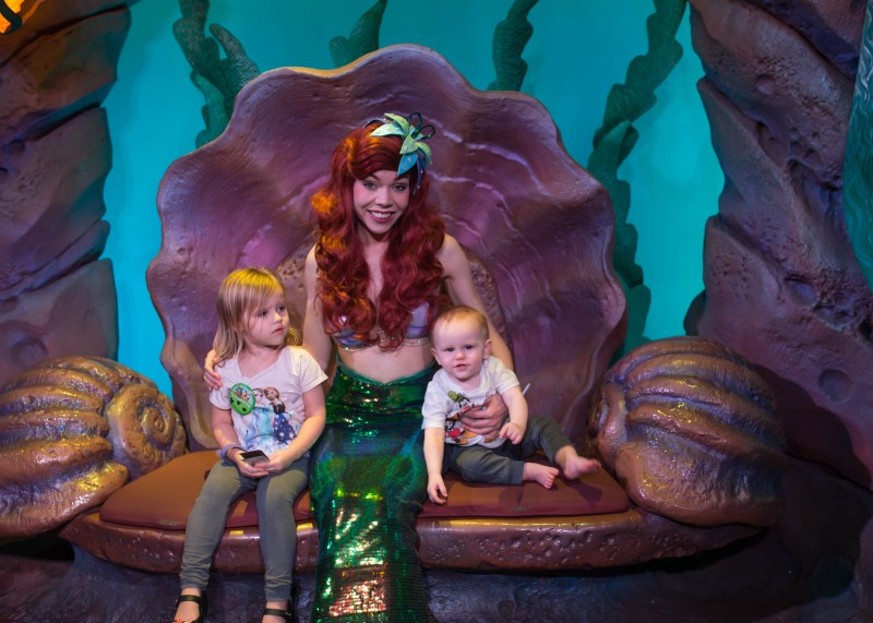 best disney world rides with a baby: princess meet and greet