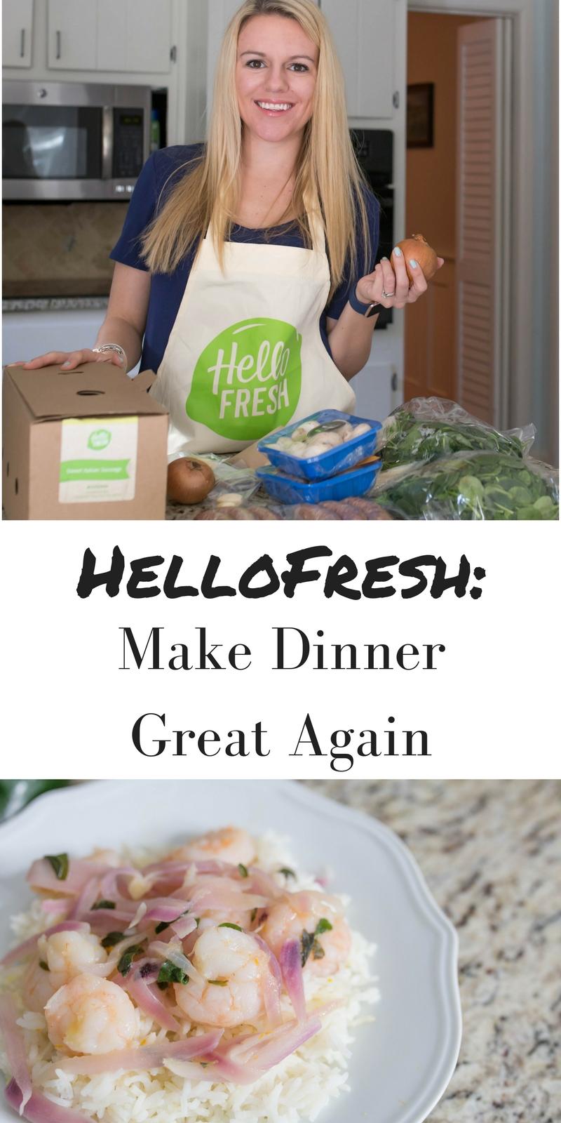 HelloFresh Review: make dinner great again