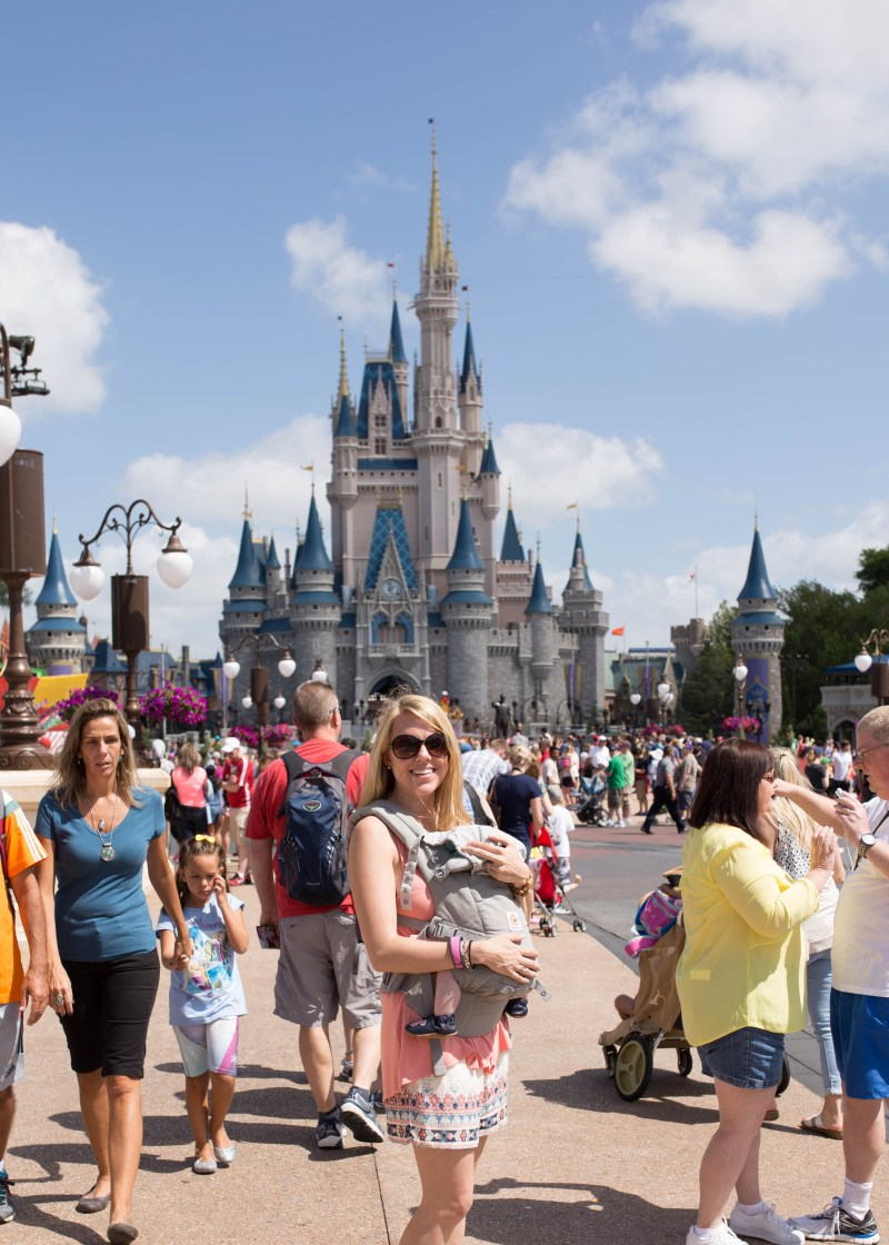 best disney world rides with a baby: sleeping beauty castle