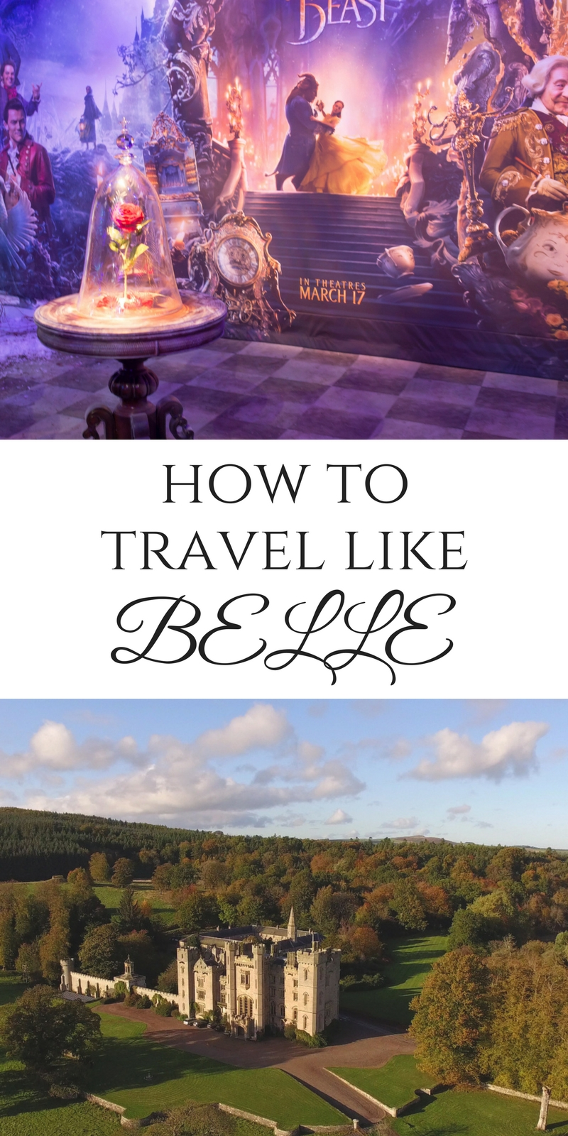how to travel like belle from beauty and the beast