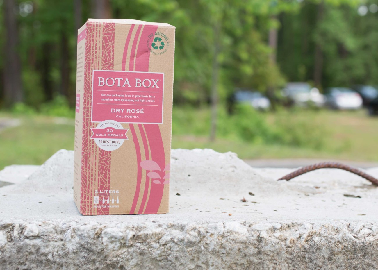 Bota Box Dry Rose