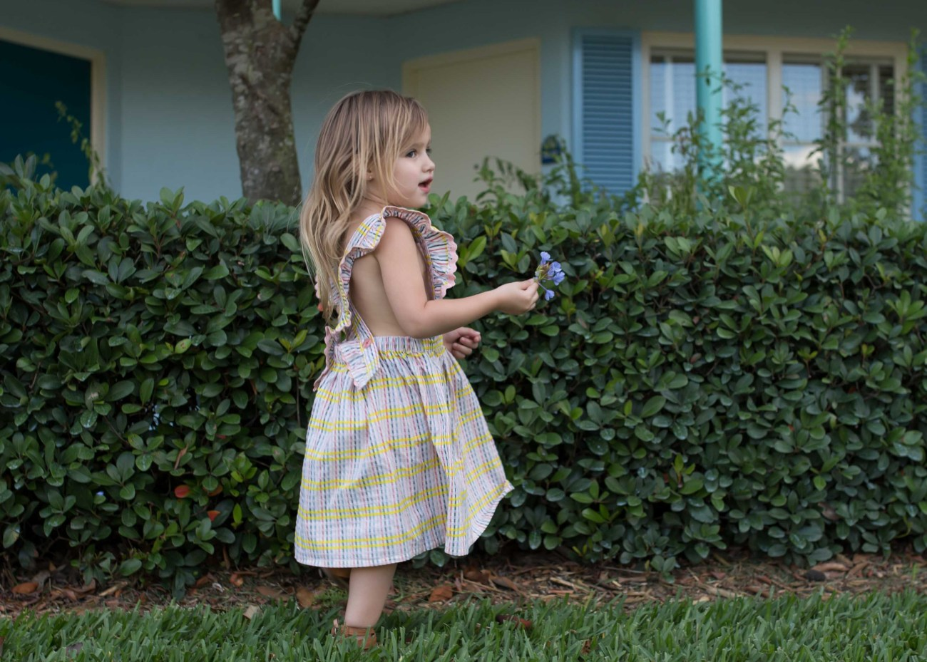 perfect gingham dress toddler girl