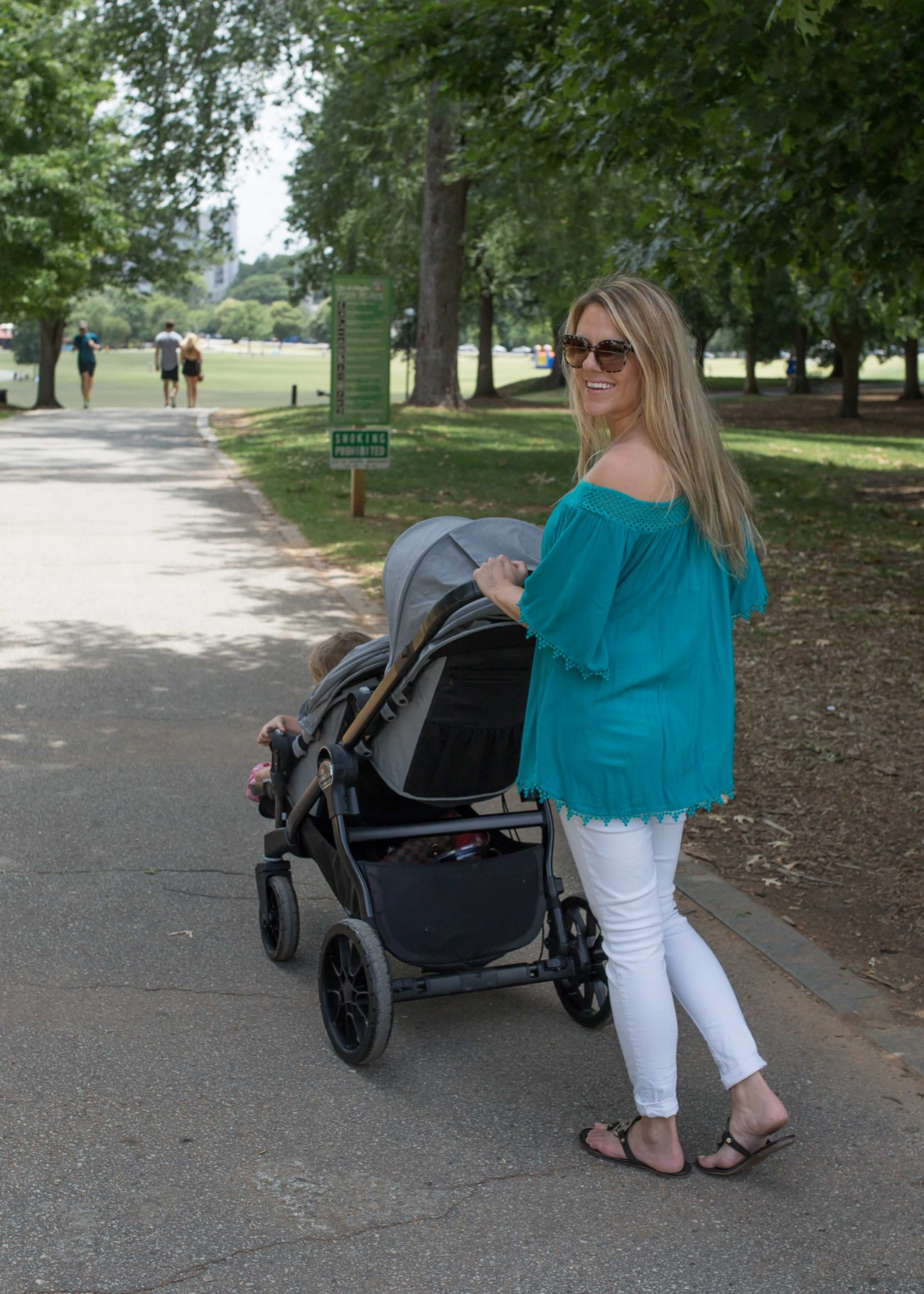 Best Places to Stroll Guide: Piedmont Park Atlanta by Atlanta mommy blogger Casual Claire