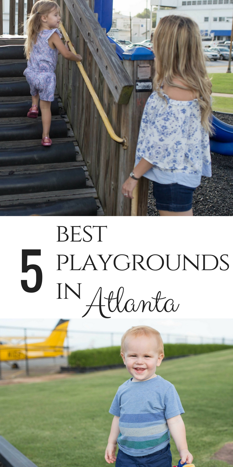 The 5 best playgrounds in Atlanta by lifestyle, family, and travel blogger Casual Claire