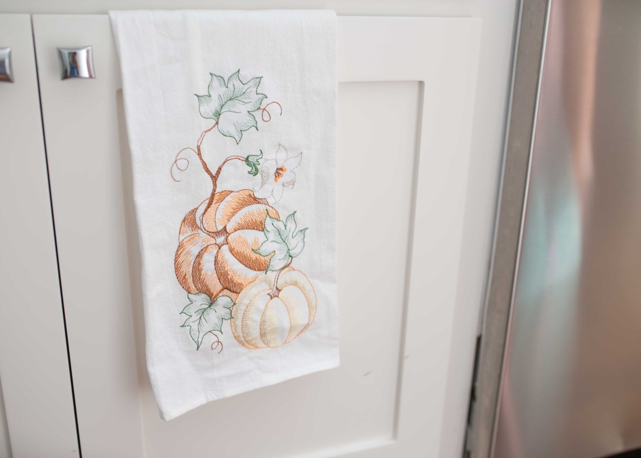fall dish cloth