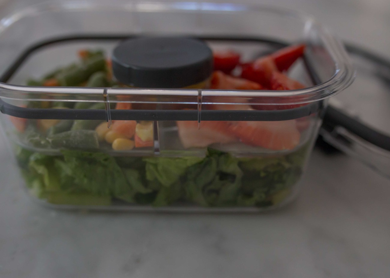 best salad storage