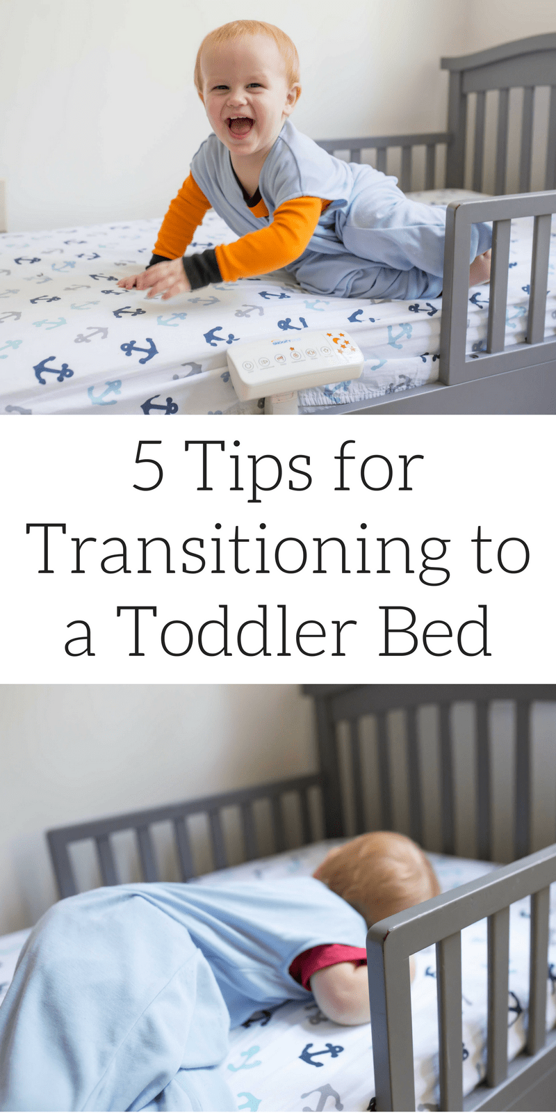 5 tips for tranisitoning your kid from a crib to a toddler bed