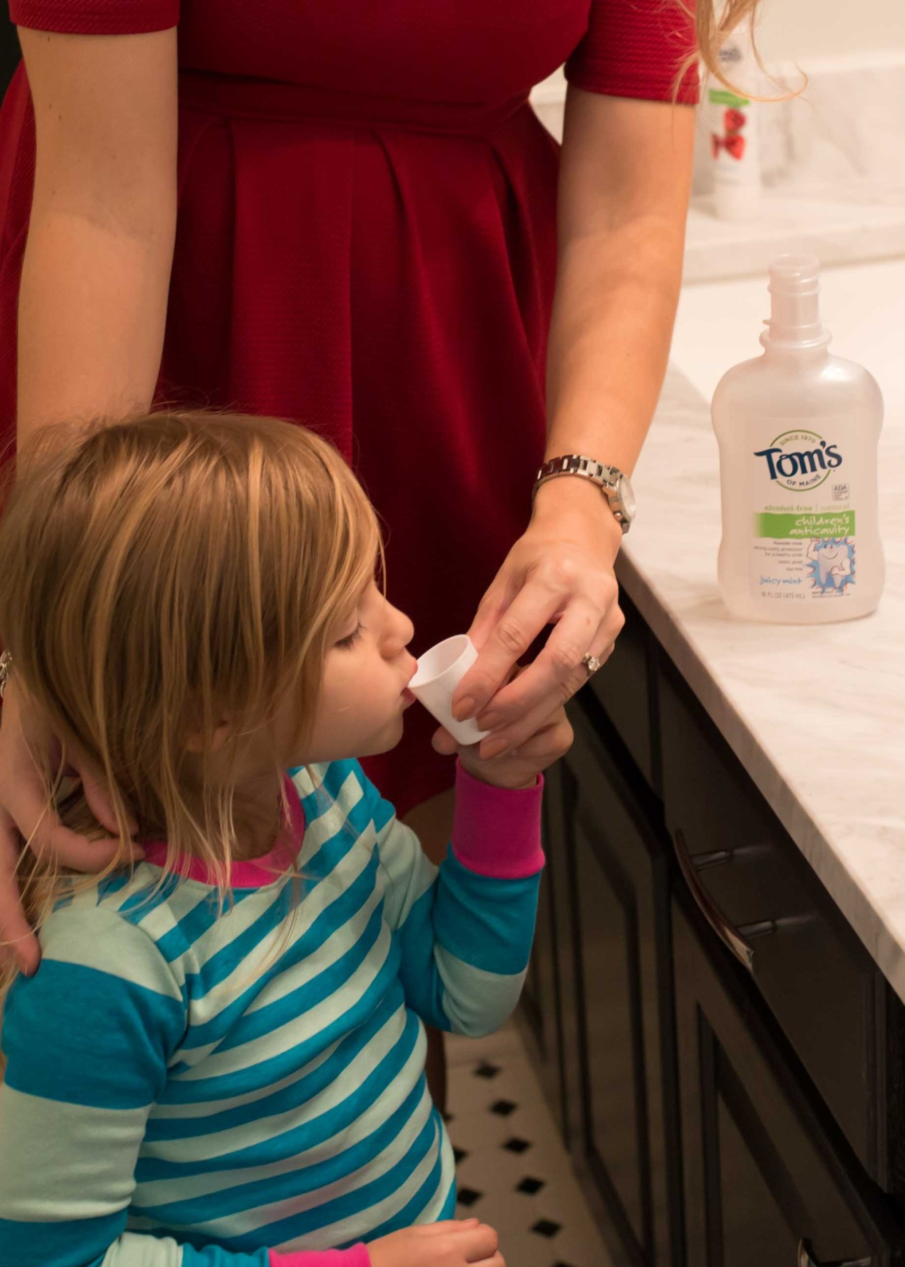 Tom's mouthwash toddlers