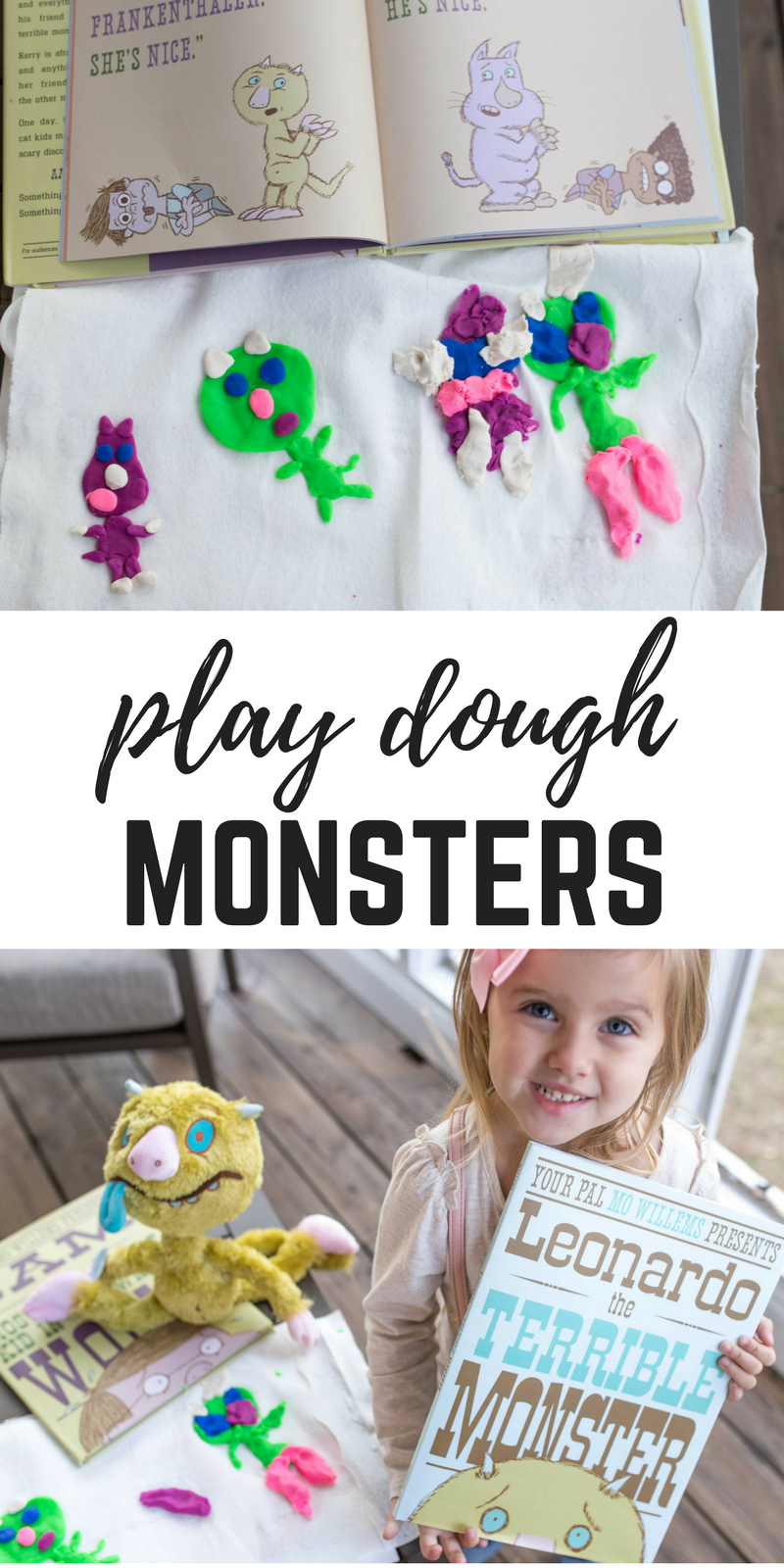 Play Dough Monsters - A fun craft for kids