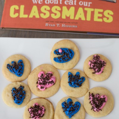 Dinosaur Track Cookies