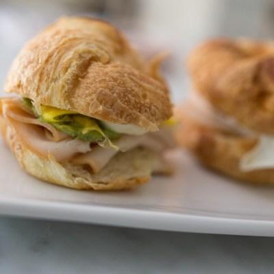 Chicken Guacamole Crescent Sandwiches