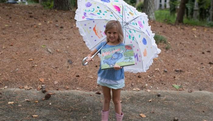 DIY Painted Umbrella