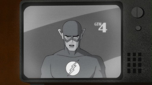 Flash-I'm Hanging It Up!