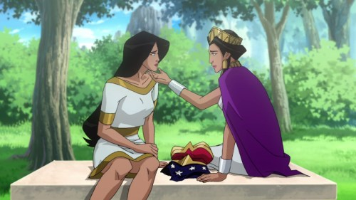 Diana And Hippolyta-Daughter And Mother Eternal!