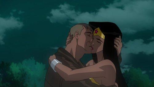 Wonder Woman & Steve Trevor-Triumphant Embrace!