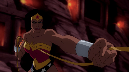 Wonder Woman-Tusslin' With Ares!