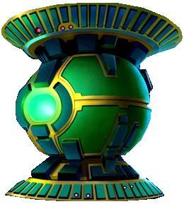 Green Lantern Central Power Battery!