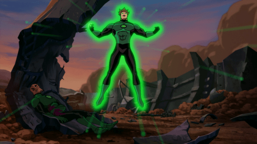 Hal Jordan-Ready To Take Abin Sur's Place!