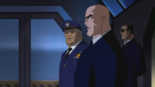 Lex Luthor-Prepping For Missle Launch!
