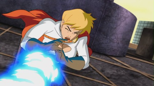 Power Girl-Struck Down By Luthor's Hired Help!