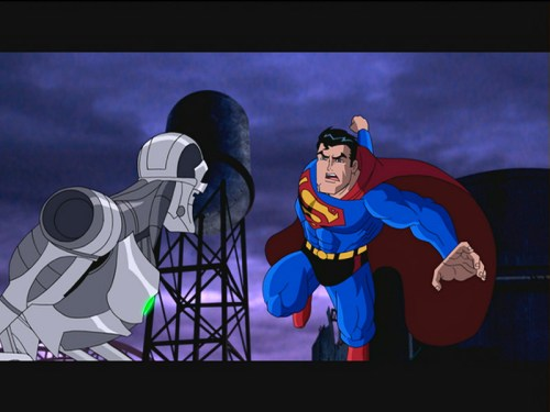 Superman-About To Do An Implausible To Metallo!