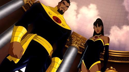 Superwoman & Captain Super-Sporting The Color Scheme Of Evil!