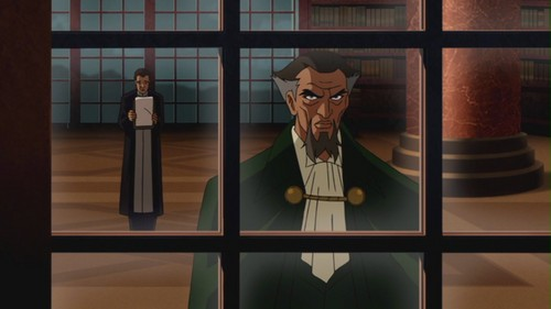 Ra's Al Ghul-Regreting His Partnership With Insanity!