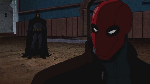 Batman-Won't Cross The Line That Red Hood Crossed!