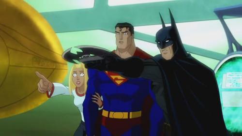 Supergirl-Being Pursued!