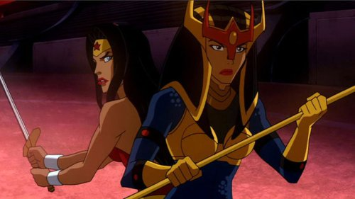 Wonder Woman & Big Barda-No Female Fury Shall Smite Them!