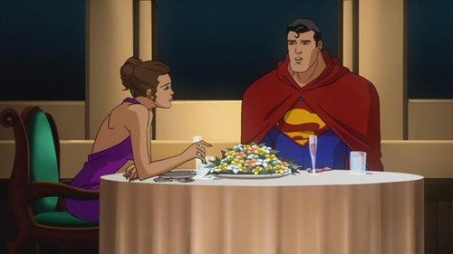 Superman-Dinner On The Titanic With Lois!