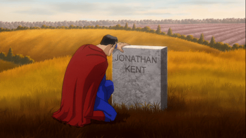 Superman-Final Visit To Pa's Eternal Rest!