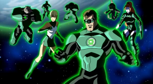 Green Lantern Corps-Krona's Going Down!