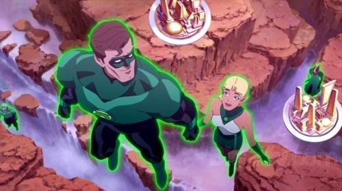Hal Jordan-Even Kilowog Was A Rookie Like Youm Arisia!