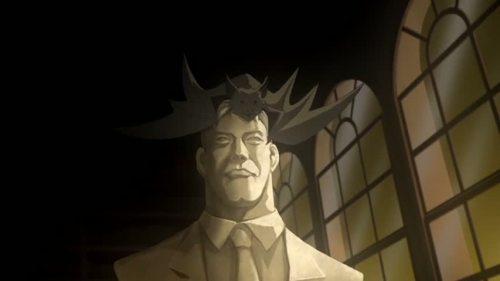 Bruce Wayne-I Shall Become A Bat!