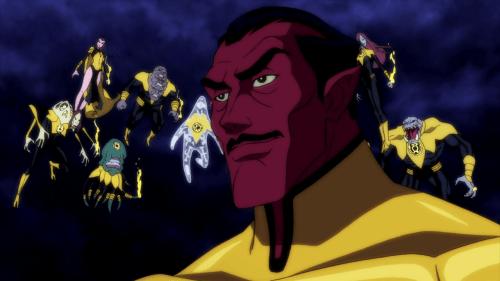 Sinestro-Atrocitus' Dark Vision Of Abin Sur's Bud!