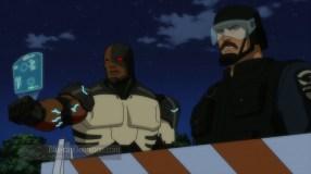 Cyborg-Wonder Woman's Fighting Towards Death!