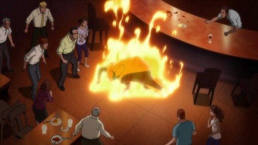 Martain Manhunter-The Eternal Burn Begins!